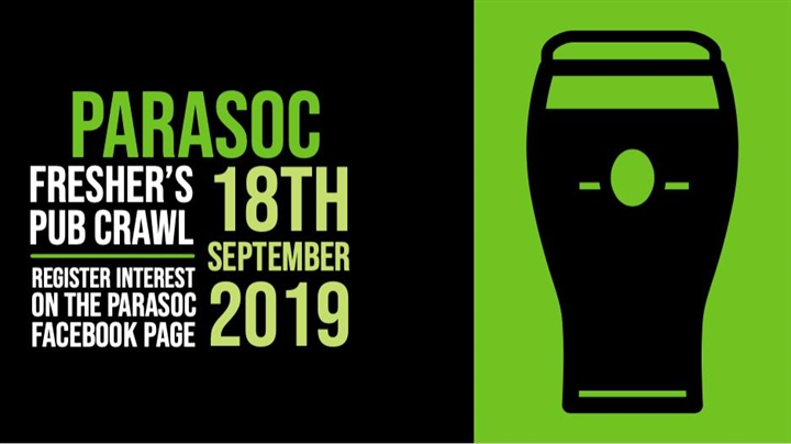 ParaSoc Fresher's Pub Crawl