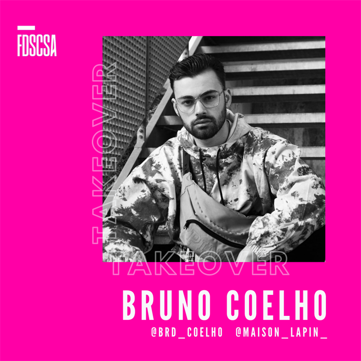 INSTAGRAM TAKEOVER - BRUNO COELHO (BA Fashion Design Alumni)