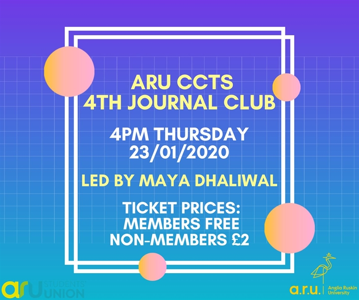 ARU CCTS Journal Club 4