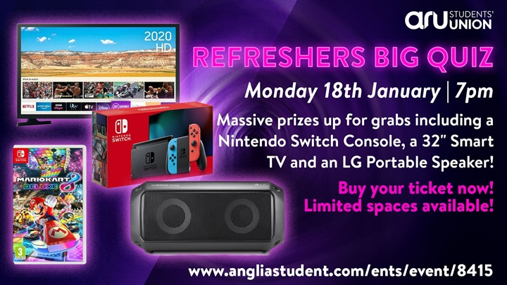 The Big Refreshers Quiz