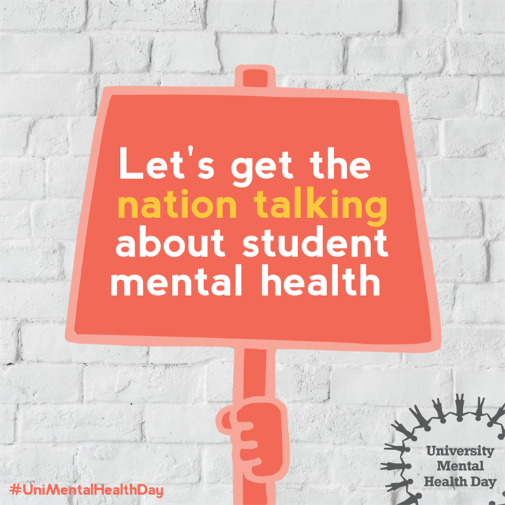 Be connected: Virtual meet up for students currently in self-Isolation #unimentalhealthday