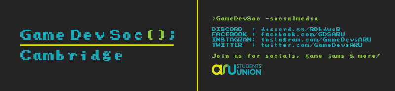 Game Developers Society Footer